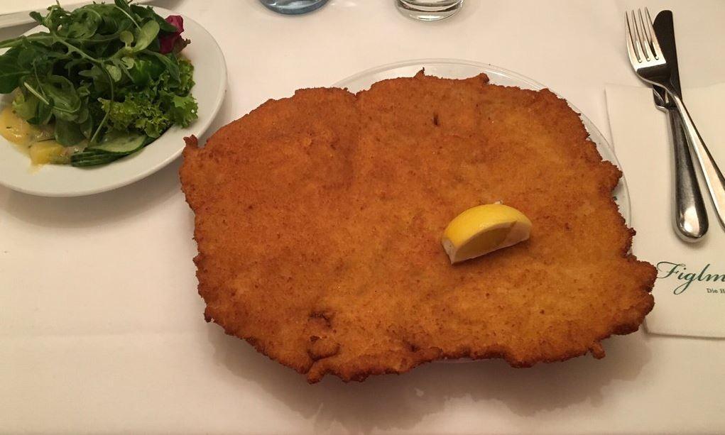維也納必吃的美食炸豬排viennapork