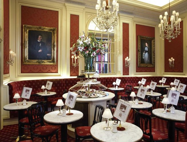 維也納必吃的美食餐廳沙河蛋糕Viennasachercake
