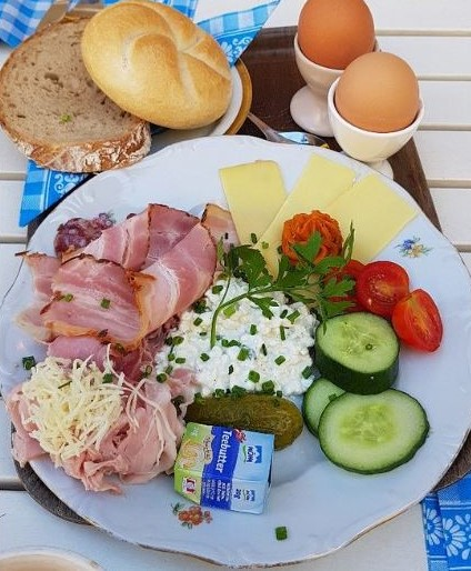 維也納必吃的美食早餐viennabreakfast