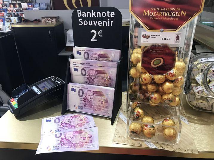 奧地利必買0歐元紀念鈔票Euro banknotes