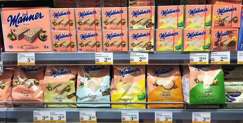 奧地利必買Manner威化餅