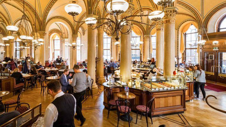 維也納中央咖啡館Vienna Cafe Central