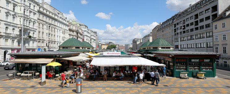 中央市場納旭市場Vienna Naschmarkt
