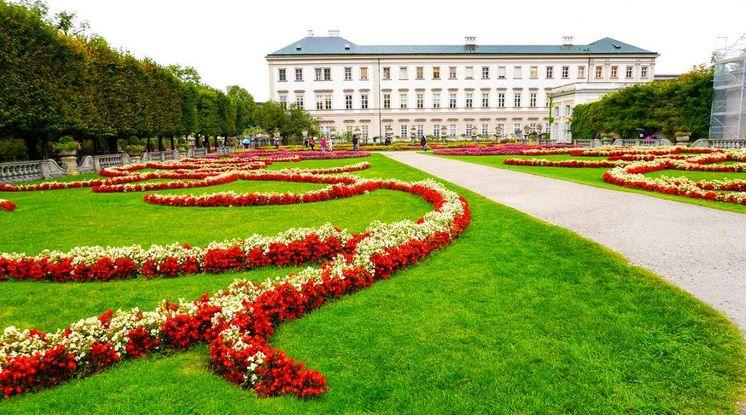 米拉貝爾宮和花園Mirabell Palace and Gardens