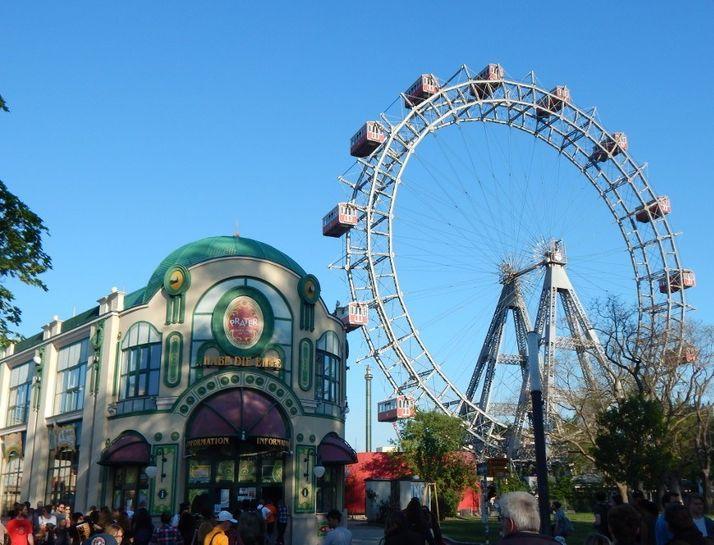 最古老維也納摩天輪Wiener Riesenrad