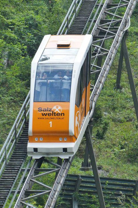 哈修塔特纜車Hallstattcabelcar