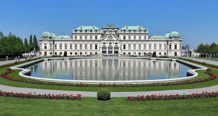 美景宮貝爾維第宮Schloss Belvedere