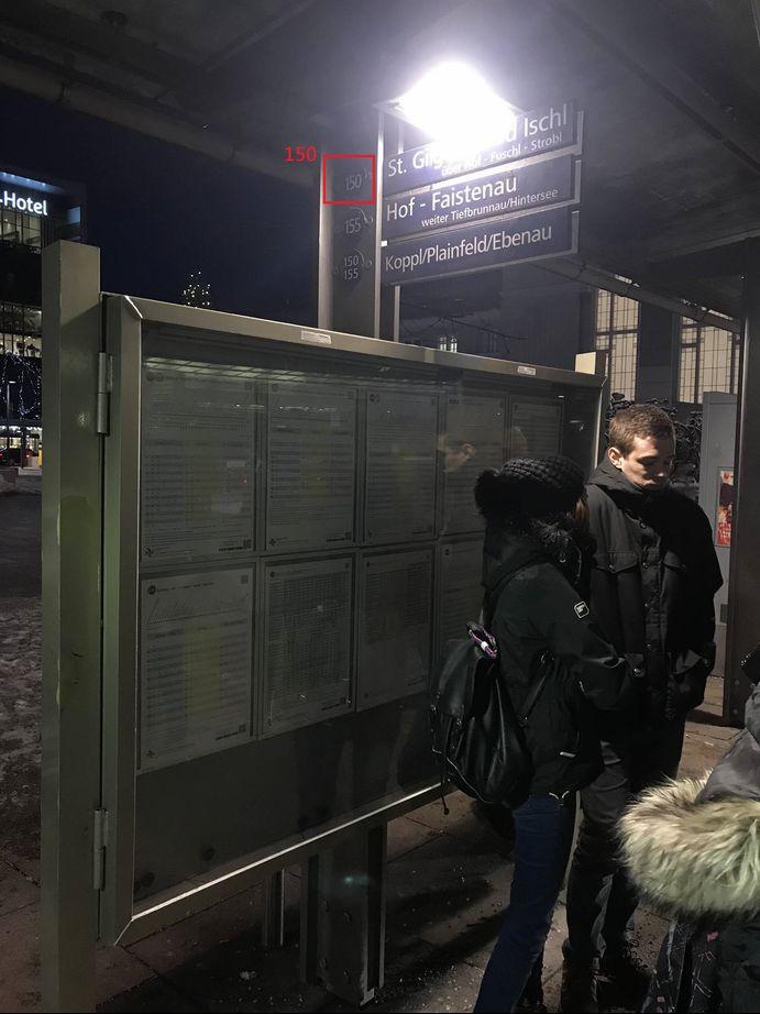 哈修塔特Hallstatt150公車站